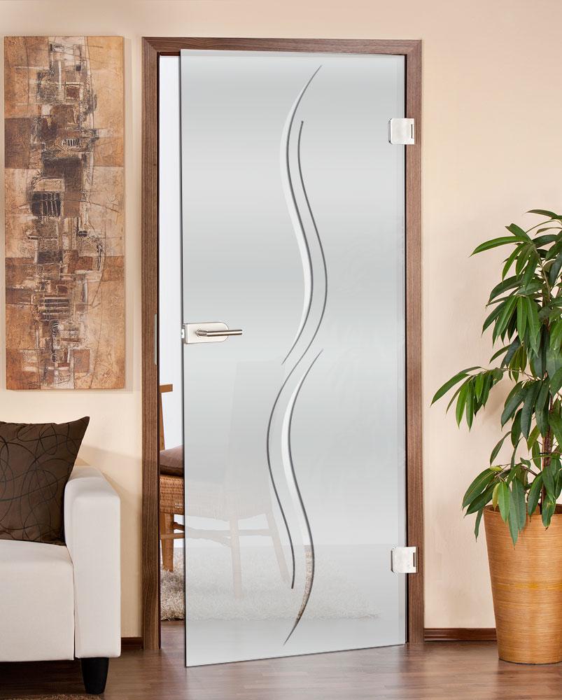 Glastüren für Licht und Abgeschiedenheit in den Räumen