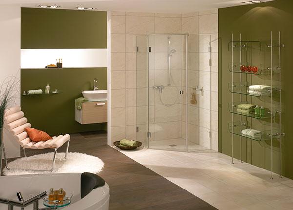 Duschkabinen stehen in unterschiedlichen Arten zur Verfügung.